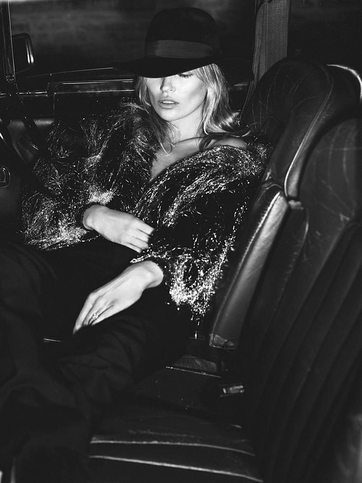 Photo Kate Moss by Mert & Marcus for Vogue Paris October 2015