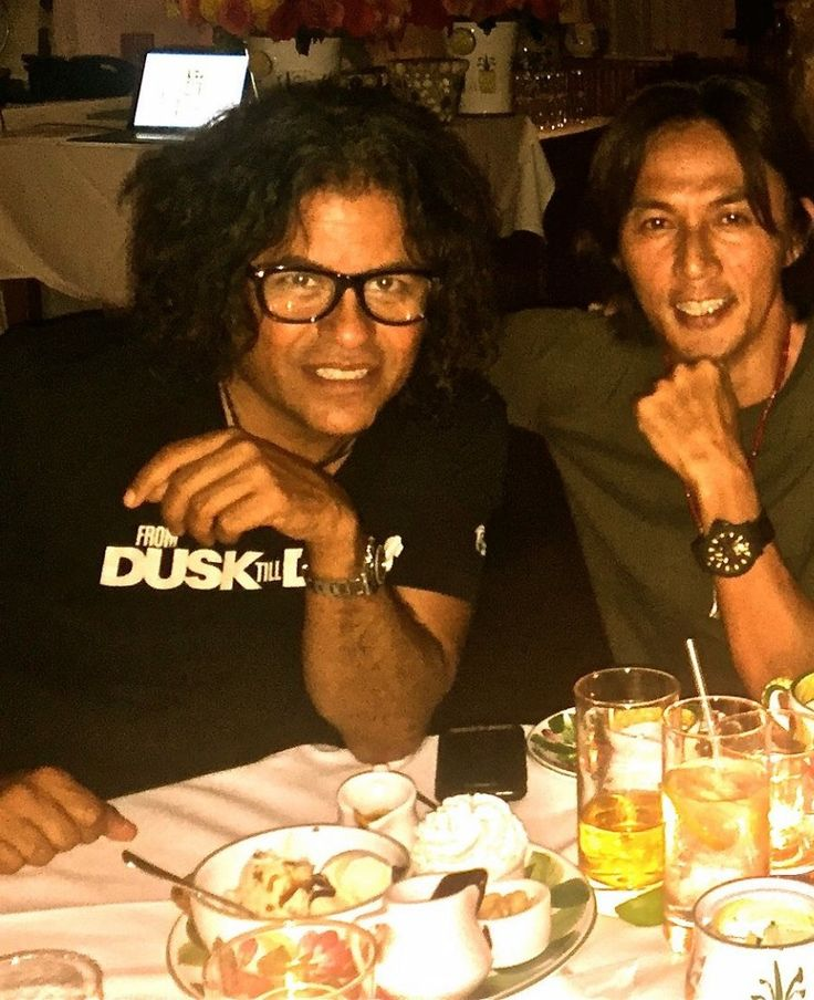 Koshi Inaba & Stevie Salas 稲葉浩志 &スティーヴィーサラス