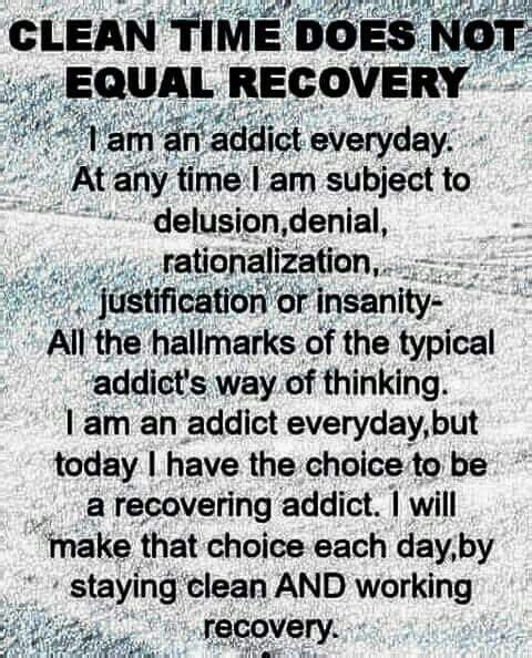 Addiction Recovery - I Love This Quote! ♥ I Need To Show This To The People I Love But Don't Understand What I Go Through Each & Every Single Day...