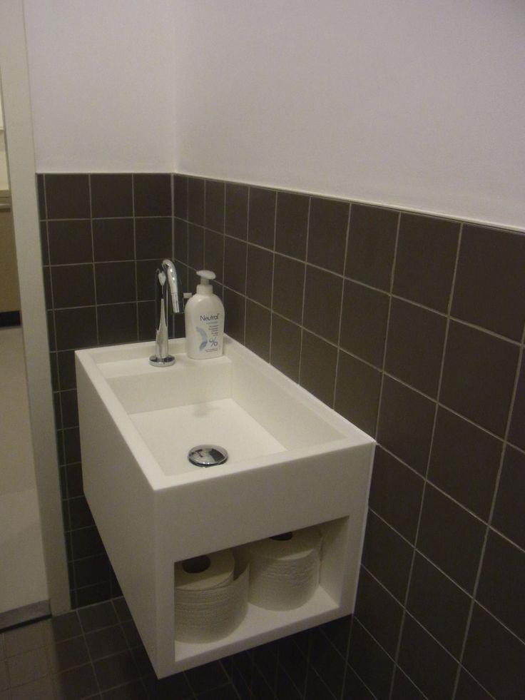 17 beste ideeën over Wasbak Ontwerp op Pinterest  Moderne badkamers, Verlich # Wasbak Hi Macs_145319