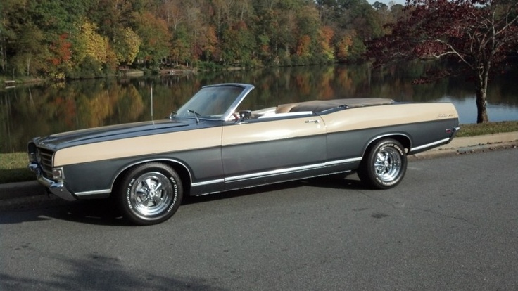 1969 Ford Fairlane 500 Convertible  cars  Pinterest  Ford