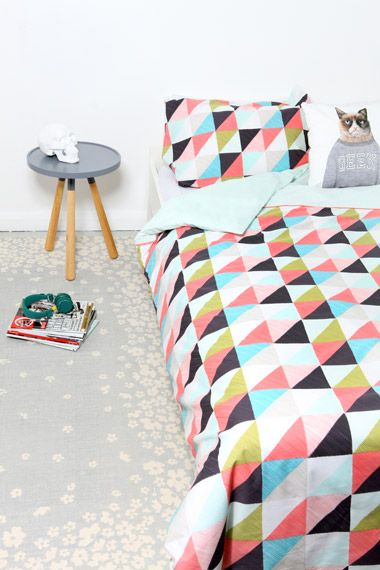 Triangles Duvet Set | Urban Outfitters