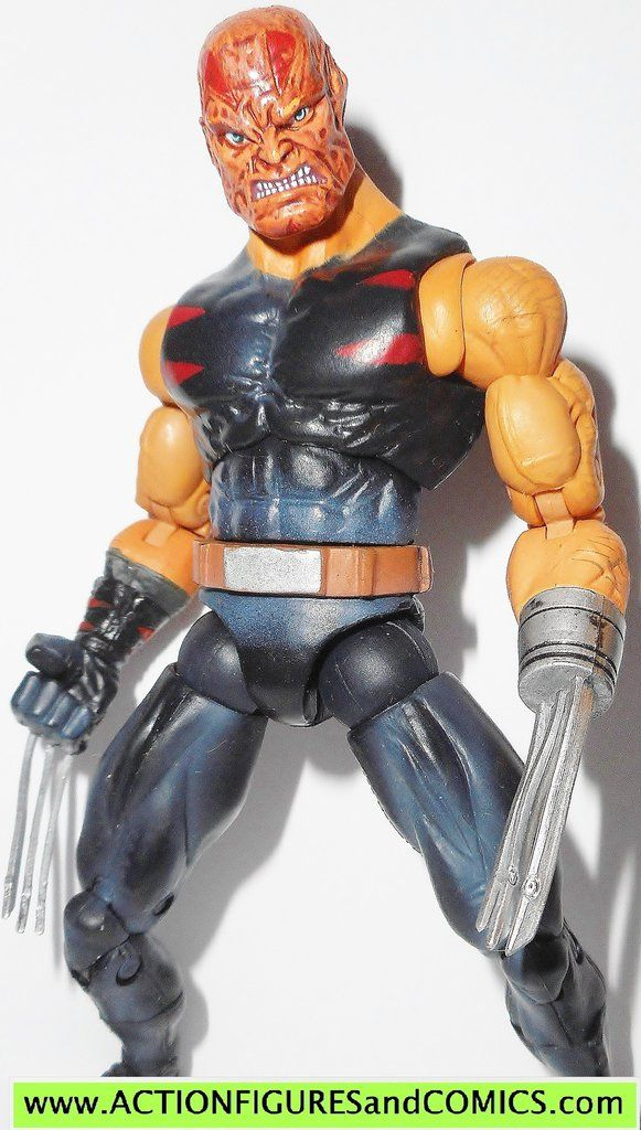 marvel legends WOLVERINE WEAPON X age of apocalypse variant giant man series