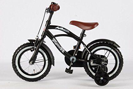 12 Zoll Fahrrad Qualitäts Kinderfahrrad matt schwarz bike Black Cruiser 21201: Amazon.de: Sport & Freizeit