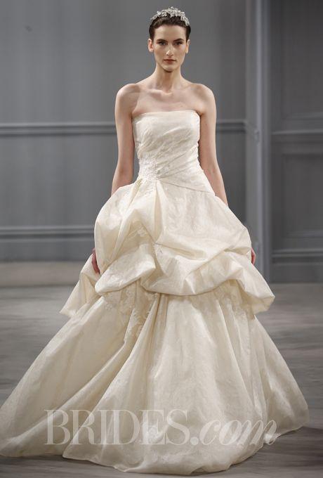 Monique Lhuillier Spring 2014 Rosecliff Wedding