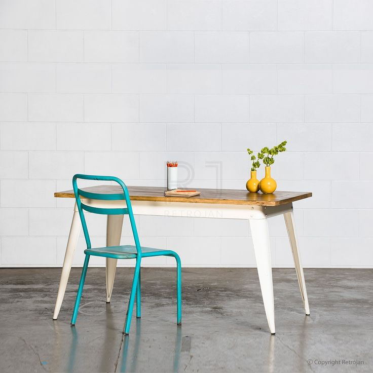Small Retro Nash Table - White | $349.00