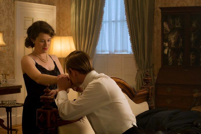 Foy stars as Queen Elizabeth in The Crown, which is currently streaming on Netflix.