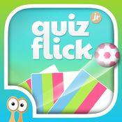 QuizFlick Jr by Happi Papi - ett enkelt och bra frågespel, där barn och vuxna kan spela mot varandra.