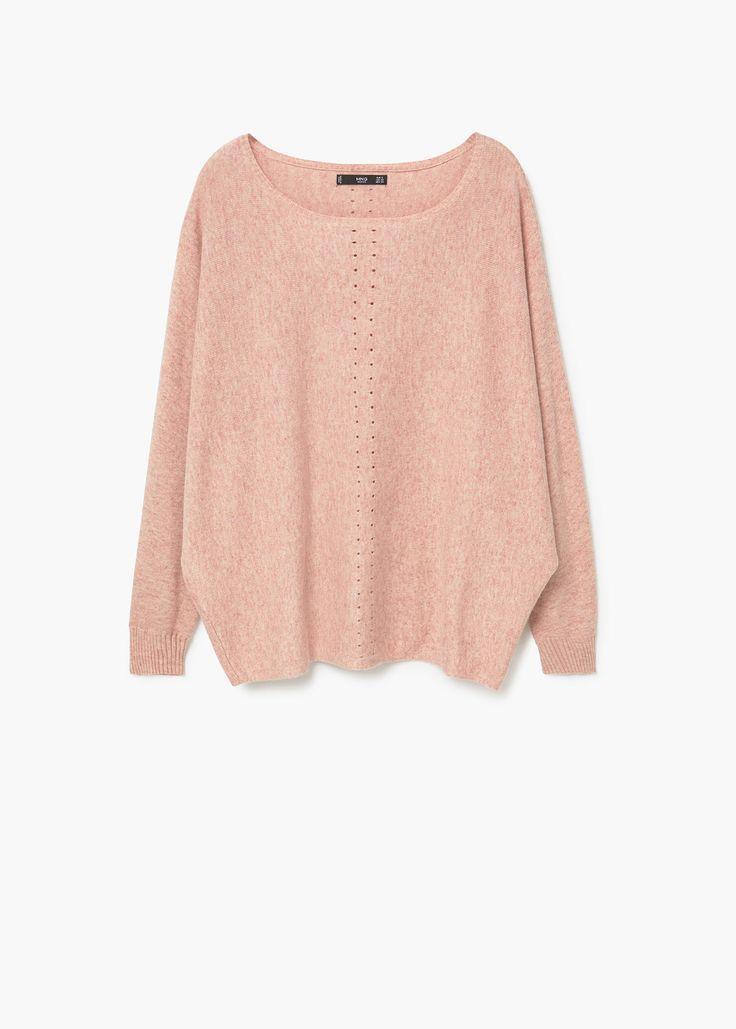 Cotton sweater - Woman | MANGO United Kingdom