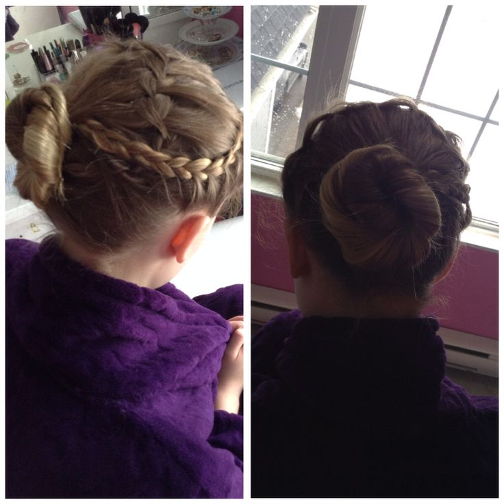 French and waterfall braids with a twist