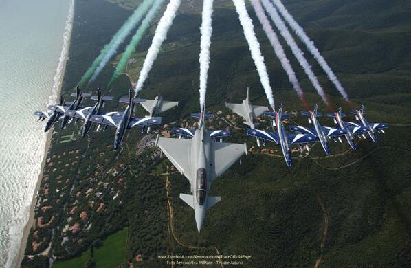Italian Eurofighters & the Frecce Tricolori