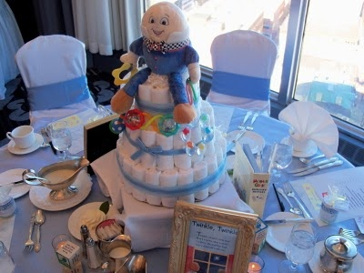 The Shower Theme Was Mother Goose Each Centerpiece Was A