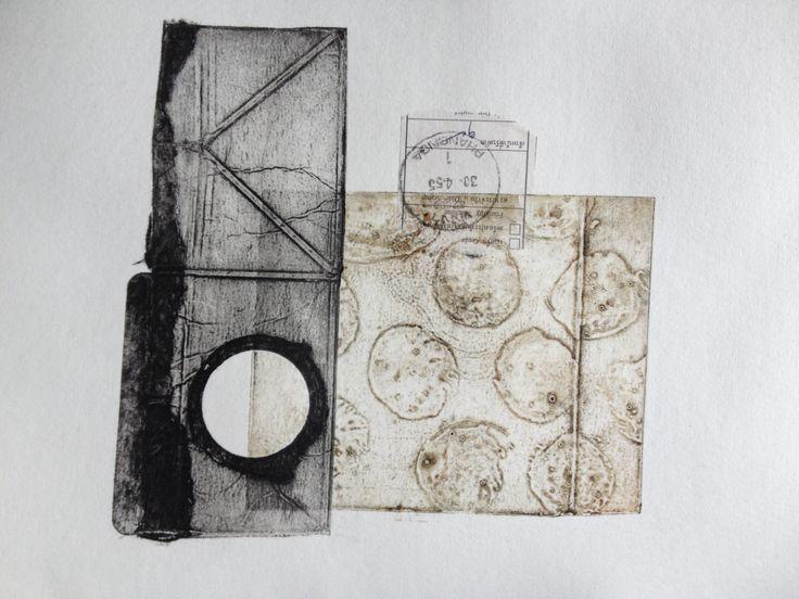 Charlotte Mathiasen - collografi