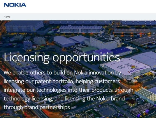 Licensing Of Nokia Brand Patents And Technology Now More Visible Https Ift Tt 2mfnv8a Nokia Technology Applied Science