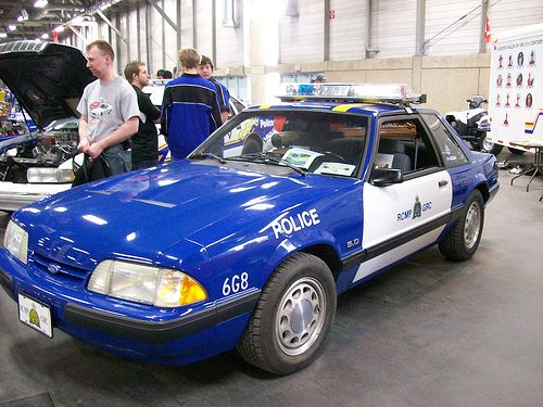 1991 Ford Mustang SSP Royal Canadian Mounted Police