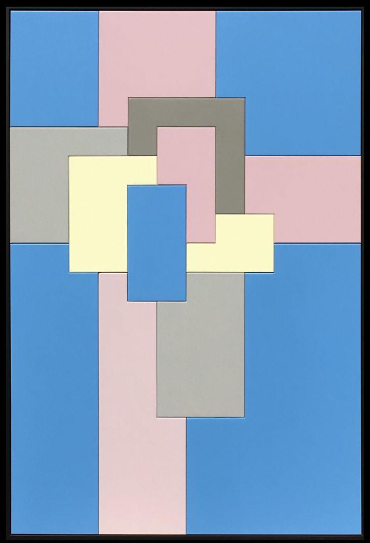 Les 25 meilleures id es de la cat gorie croix peintes sur for Tableau geometrique pastel