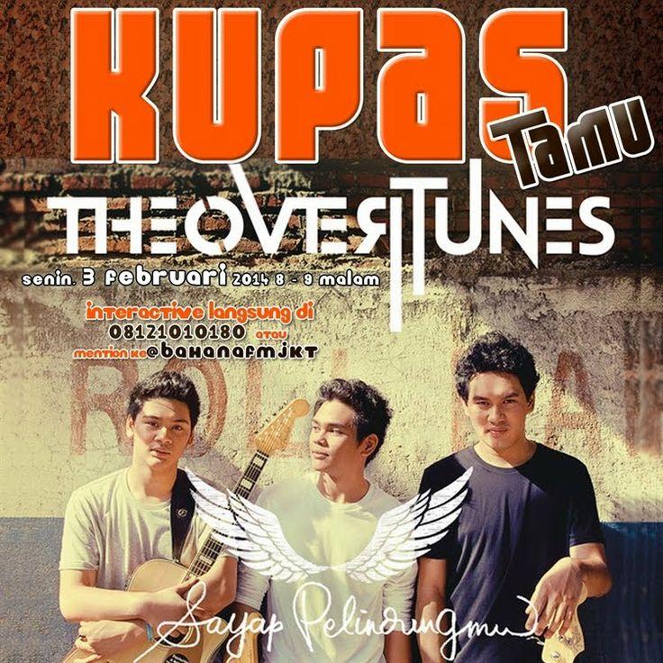 The Overtunes at Bahana 101,8FM Jakarta