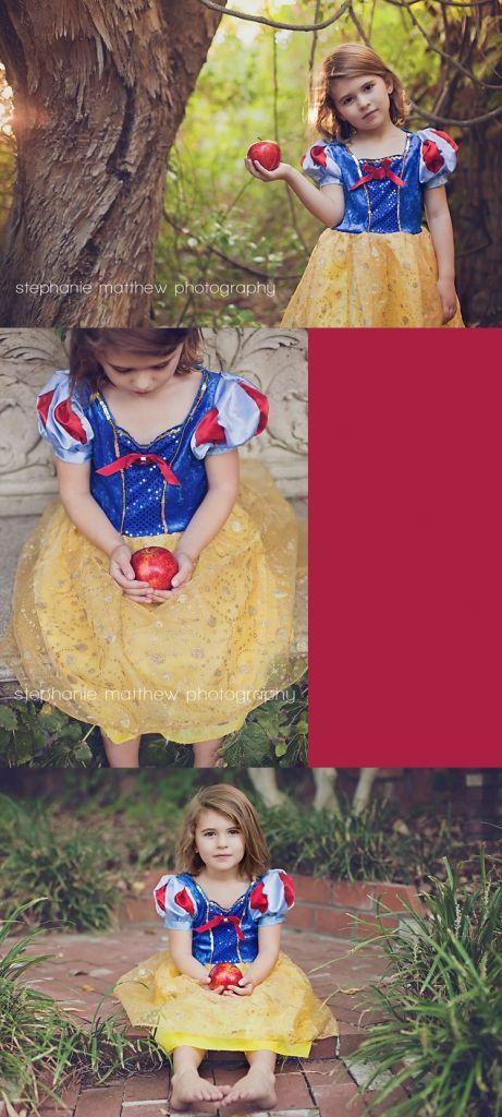 Snow White Halloween photo shoot