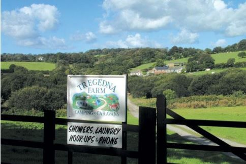 Tregedna Farm Touring Caravan & Tent Park Maenporth, Falmouth, Cornwall, Uk, England. Campsite. Camping. Outdoors. Holiday. Outdoors Holiday. Travel. Children Welcome. Dogs Welcome.