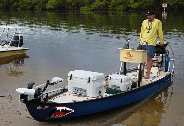 SeaDek on a Custom Gheenoe Low Tide 25 | SeaDek Marine Products Blog – Swim Platform Pads