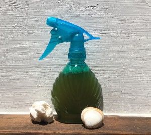 Beach Babe Hairspray get that just come from the beach tousled hair anytime with this sea salt infused hair spray you can make at home.