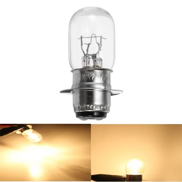 12v 25 25w Motorcycle Quad Headlight Projector Front Lamp Bulb T19 P15d 25 1 Lamp Bulb Motorcycle Headlight Bulb