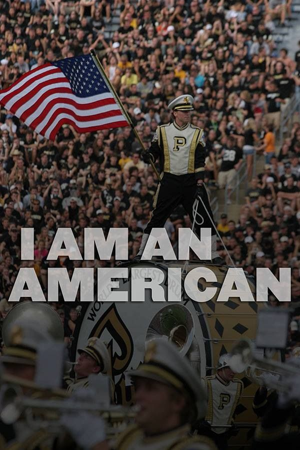"""One of my favorite Purdue traditions: """"I am an American. That's the way most of us put it, just matter of factly. They are plain words, those four: you could write them on your thumbnail, or sweep them across this bright autumn sky. But remember too, that they are more than just words. They are a way of life. So whenever you speak them, speak them firmly, speak them proudly, speak them gratefully. I am an American."""""""