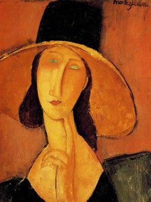 Τζενη Χεμπουτερν, Μοντιλιάνι Αμεντέο | Καμβάς, αφίσα, κορνίζα, λαδοτυπία, πίνακες ζωγραφικής | Artivity.gr