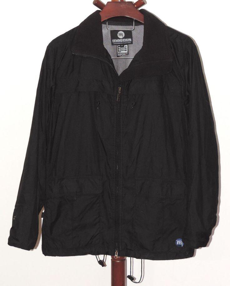 Magnus Snowboard Clothing size M Black Nylon Snowboard Ski Snow Winter Jacket #Magnus