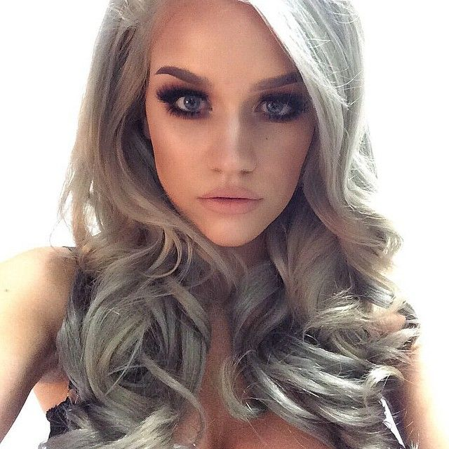51 best bellami hair images on pinterest cosmetology coupon sexy silver haired goddess wearing our 18 inch clip ins with her signature hue blonde hairsilver pmusecretfo Choice Image