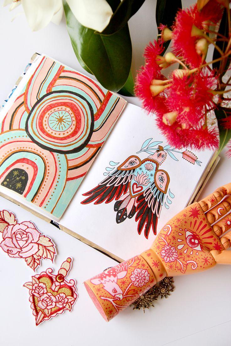 Sketchbook Flip Through