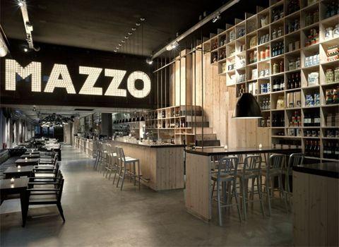 cool restaurant design in Amersterdam