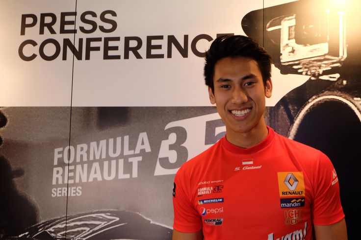 """Indonesian Young Single Seater Driver """"Sean Gelael"""""""