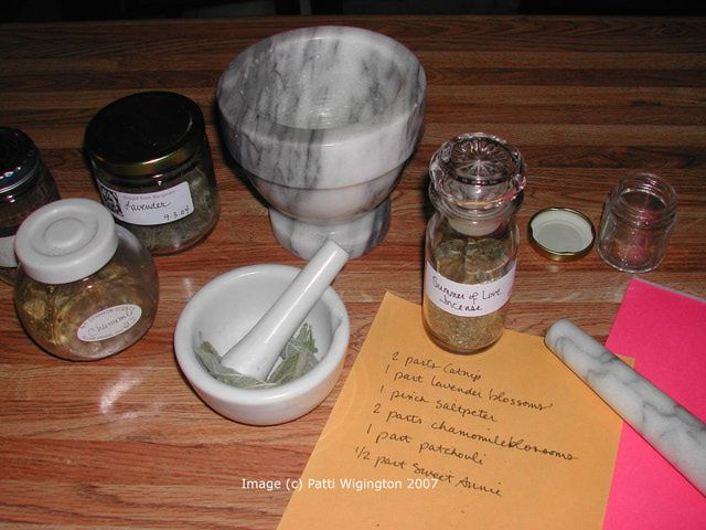 Make Summer Incense for Litha: Summer of Love Incense