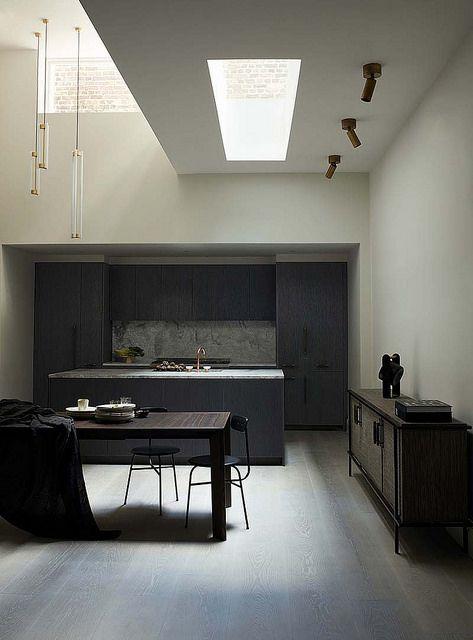 AMM blog | naturally lit kitchen with blackened steel | Flickr