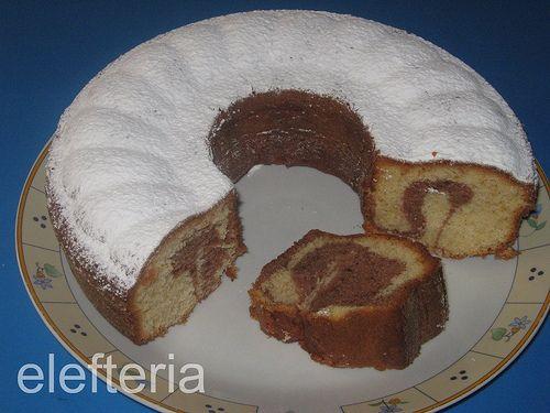 Γεύση Ελευθερίας: Κέικ μαρμπε με αληθινή σοκολάτα