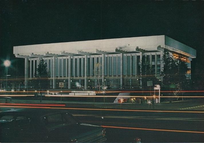 Perth Concert Hall, 1970s.