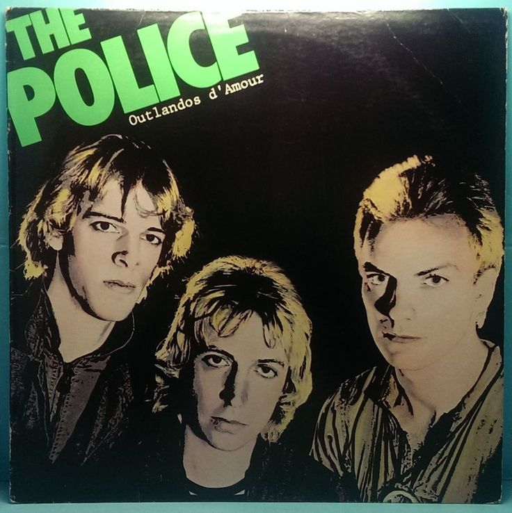"The Police Outlandos d'Amour A & M 4753 1979 Vinyl LP VG+/VG+ Roxanne Sting 12"" $9.00 http://stores.ebay.com/cjvintagevinyl"