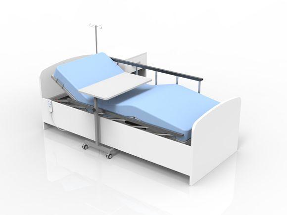 ev tipi elektrikli hastane yatağı