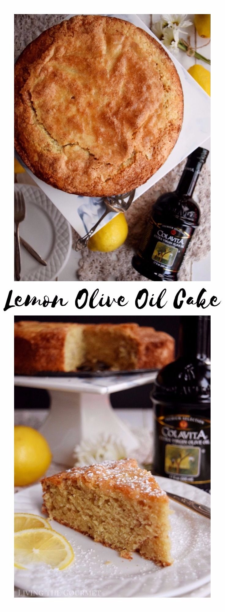 "Wow your guests this holiday season with this elegant Lemon Olive Oil Cake that is light in texture but rich in flavor. ""In those days, people weren't afraid to live, to feel, and to die."" H.P. Lovecraft, Pickman's Model. It's a sentiment so often echoed that it's become almost cliché – the idea of past..."