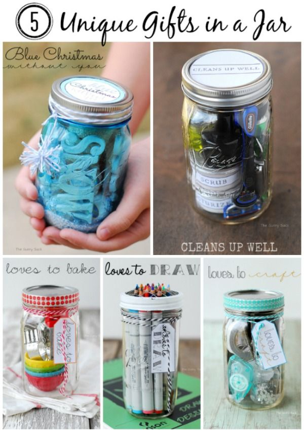 Homemade Gifts in a Jar Holiday Inspiration
