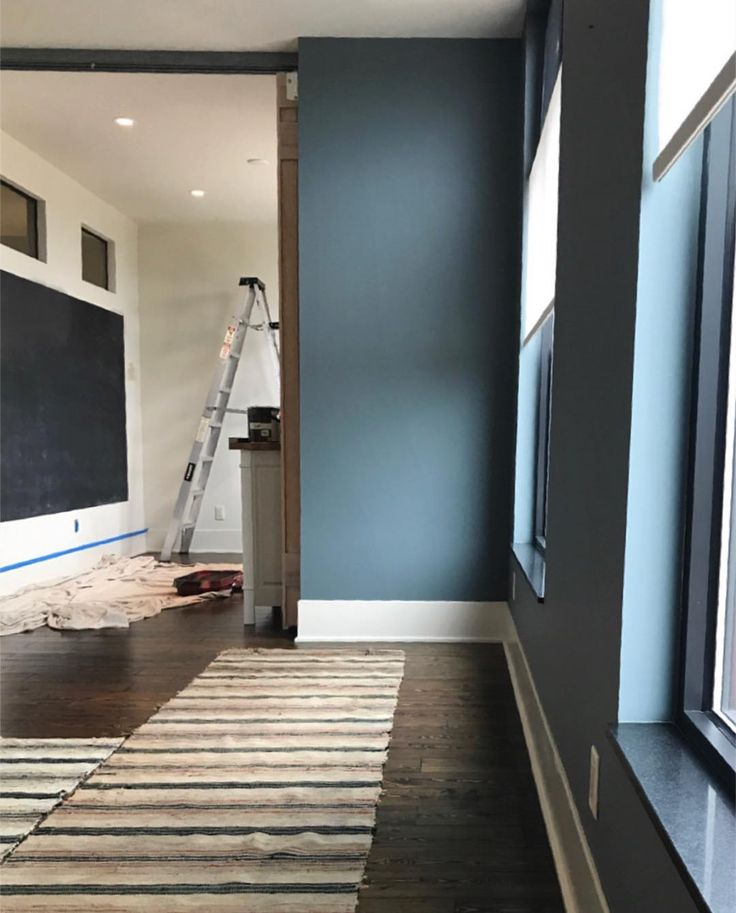 Farrow Amp Ball De Nimes In Warm Light Trendy Living Room
