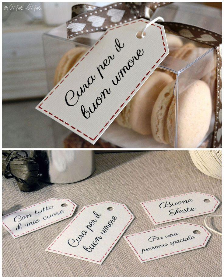 Etichette per packaging natalizio per Dolce Lab -  Etiquettes pour biscuits et douceurs de Noël pour Dolce Lab - Christmas Packaging Tags for Dolce Lab by Méli-Mélo | Graphic Design