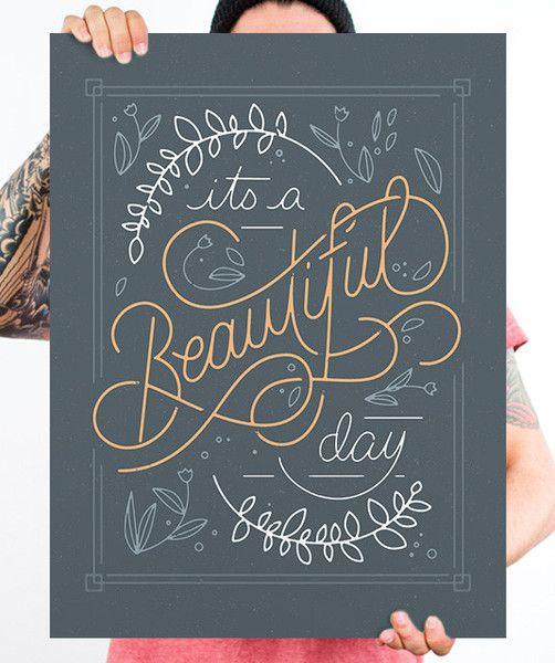 Friday's Typographic Treats #design #type