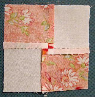 making quilt seams lay flat tutorial by la vie en Rosie