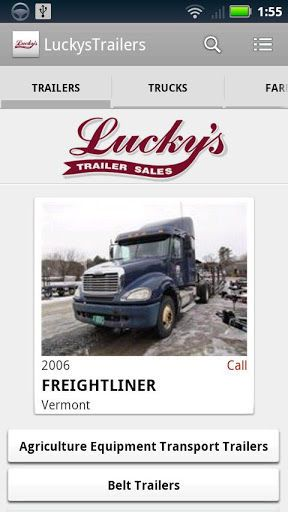 Lucky's Trailer Sales specializes in New and Used Trailer Sales, Horse Trailers, Construction Trailers, Snow Plows and Sanders, Used Trucks and Truck Equipment. Come visit one of our two convenient locations in South Royalton, VT and now in Colchester, VT. We also carry parts in stock for all makes and models of trailers.