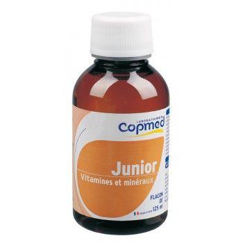 Junior vitamines et minéraux Complément alimentaire à base de plantes, vitamines et minéraux.  Optimise les apports en vitamines et minéraux.