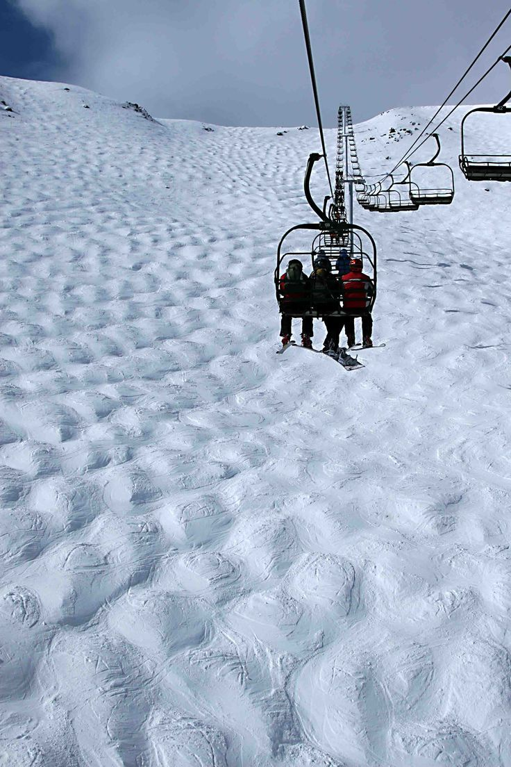 ❄️~ Paradise Chair - Comedy Bowl - Lake Louise Ski Resort, Alberta, Canada.