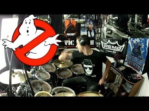Ghostbusters Theme Song - Drum Cover - Ray Parker, Jr. - Ghostbusters Movie Soundtrack