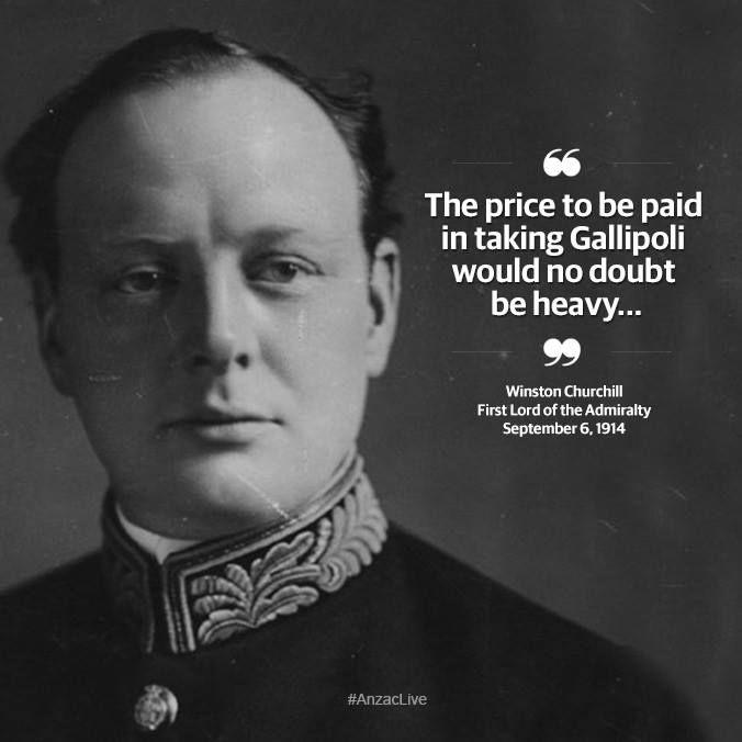 Churchill Gallipoli